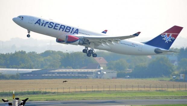Beograd: Er Srbija poletela za Njujork