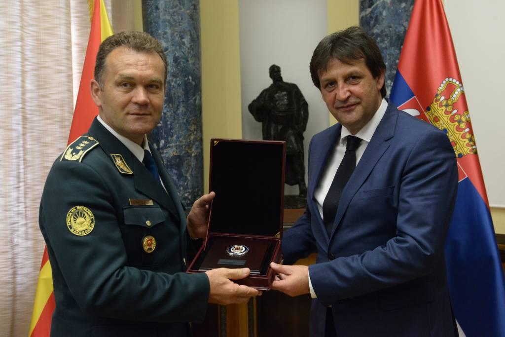 SASTANAK MINISTRA GAŠIĆA SA NAČELNIKOM GENERALŠTABA ARMIJE MAKEDONIJE