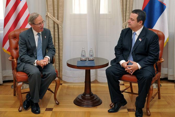 Ministar Ivica Dačić o izjavi ambasadora SAD u Beogradu Majkla Kirbija