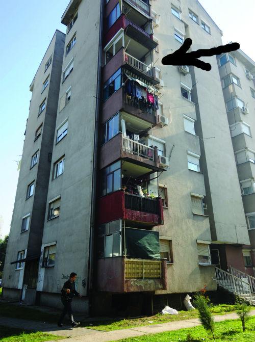 Skopje: majka bacila dete sa šestog sprata