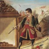 Sinđelić_at_Čegar_Hill
