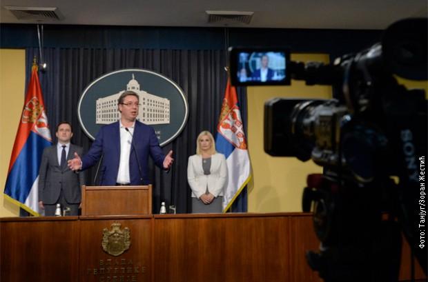 Konferencija za medije Aleksandra Vučića: Srbija mora biti stub sigurnosti u regionu