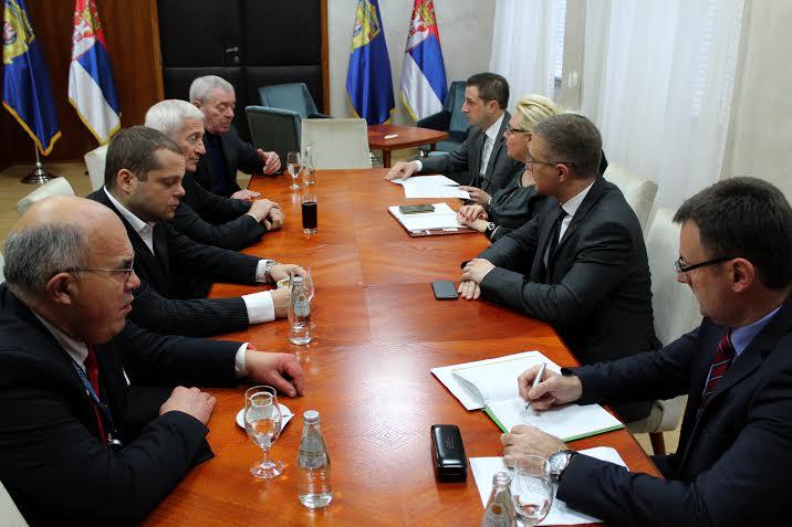 Stefanović razgovarao sa beogradskim advokatima