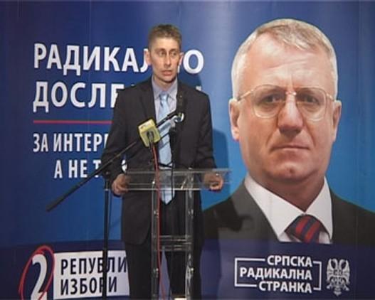 Skupštiuna Srbije: svađa Radikala