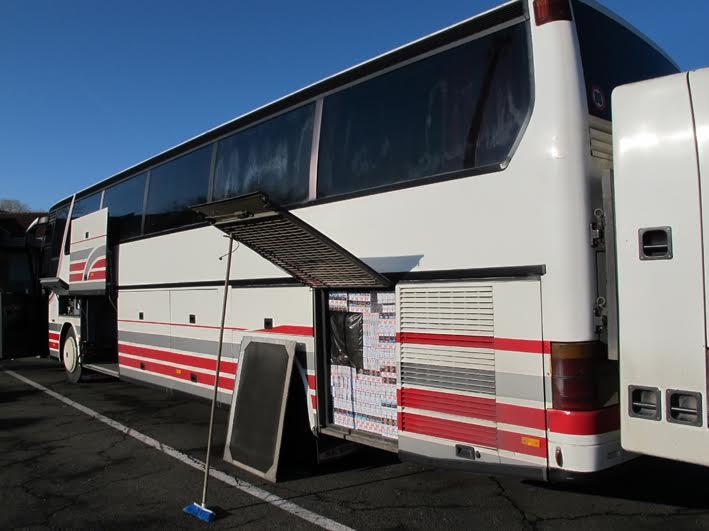 Kelebija: šverc cigareta u dva autobusa