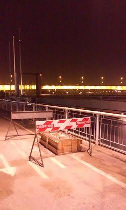 Muke dvotočkaša: postavljaju bilbord na stzi biciklista