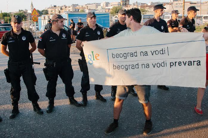 Aktivisti sutra na saslušanju zbog ukazivanja na kršenje zakona u vezi sa projektom Beograd na vodi