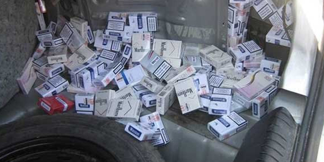 Pirot: švercovao 5.990 paklica cigareta