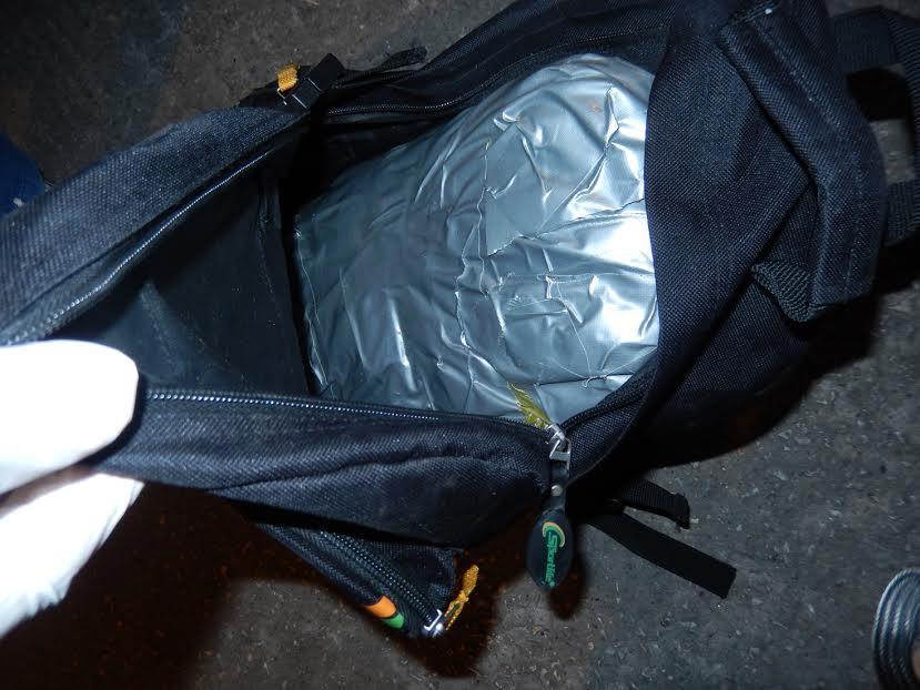 Na prelazu Rudnica – Jarinje policija zaplenila kilogram i 312 grama marihuane