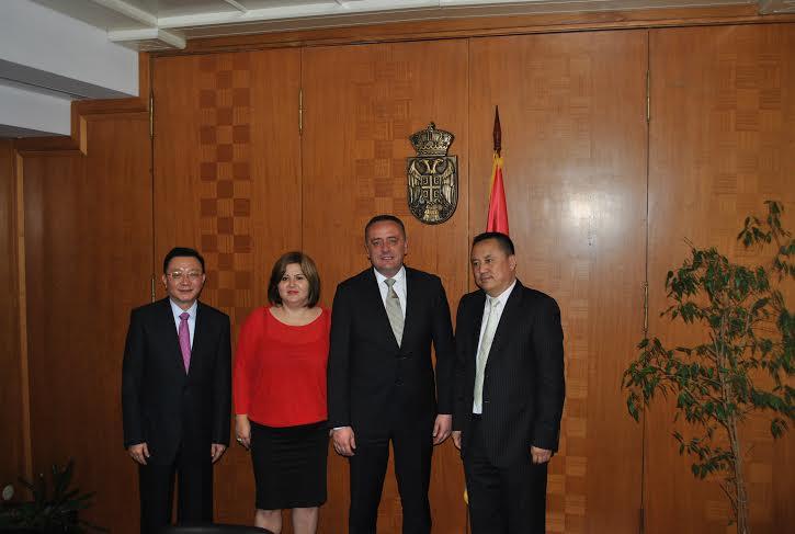 Kineska delegacija u Ministarstvu energetike