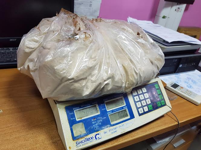 Bogat ulov na Gradini: u dva navrata zapčenjeno 7 kilograma droge