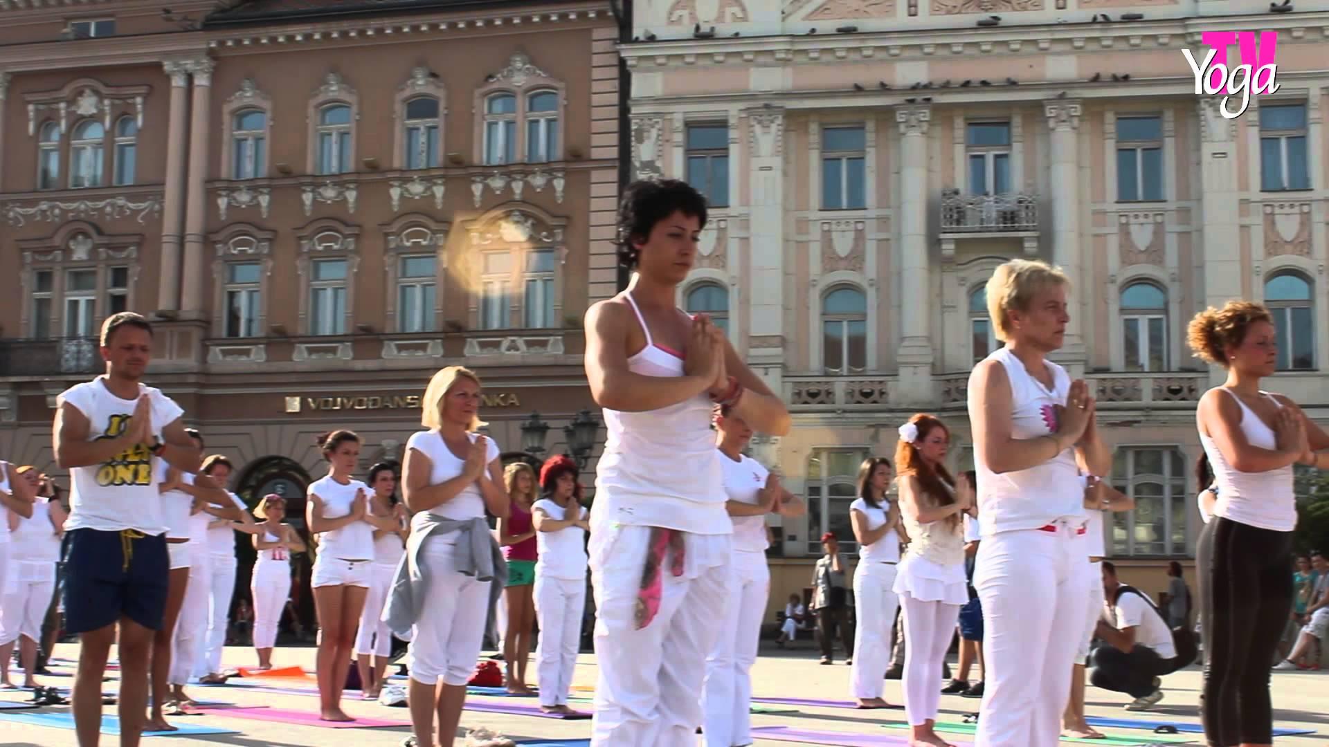 Sutra u Beogradu veliki joga performans