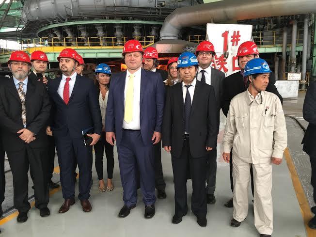 Delegacija Smederevske železare u poseti Hestil – Tangstilu u Kini