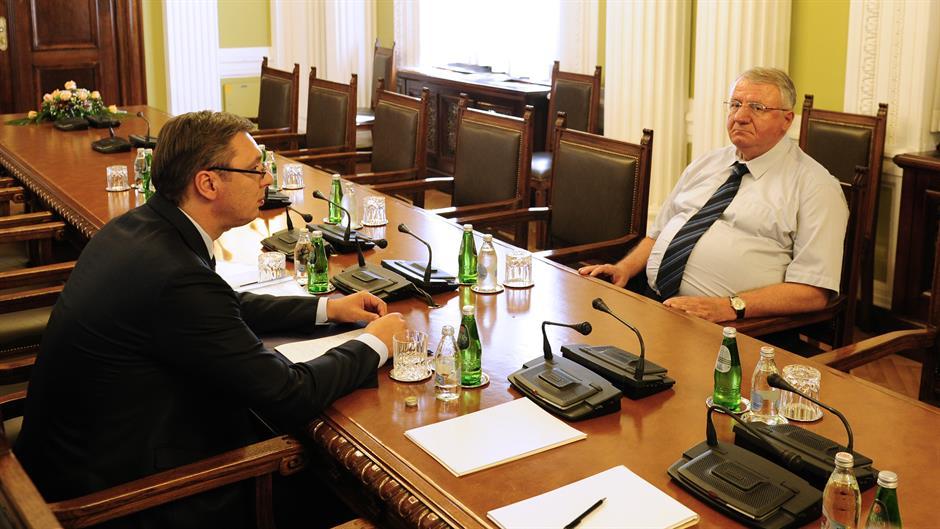 Vučić razgovarao sa Dačićem, Šešeljem i Radulovićem