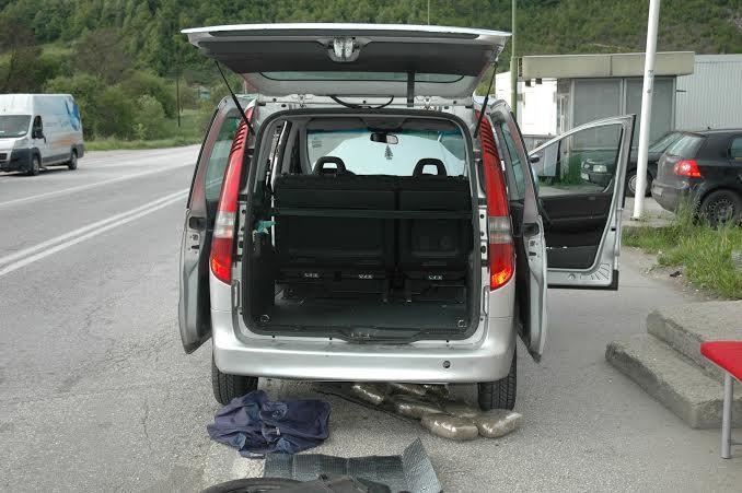 Na graničnom prelazu Gostun oktkriveno 10 kilograma droge