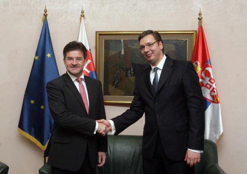 Vučić primio ministra spoljnih poslova Sovačke Lajčaka
