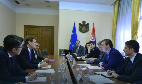 Vučić razgovarao sa predstavnicima MMF-a