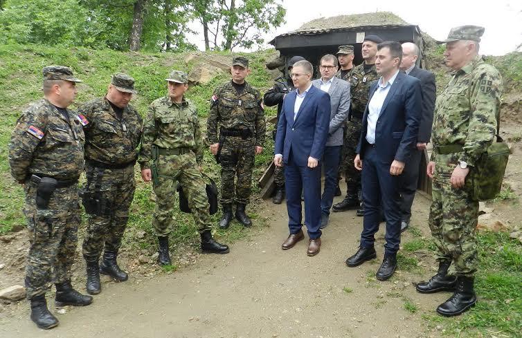 Sporazum policije i vojske o obezbeđivanju administrativne granice sa Kosovom