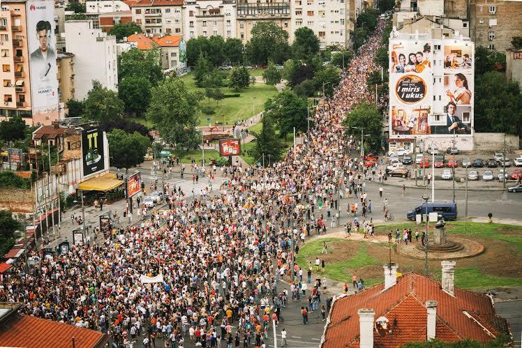 Saopštenje Inicijative Ne da(vi)mo Beograd: u subotu četvrti protest