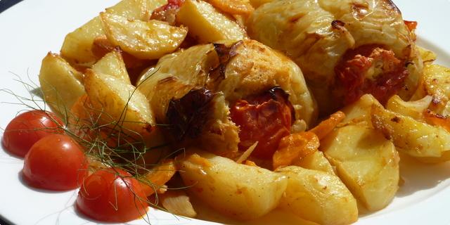 Recepti: punjena paprika s krompirom