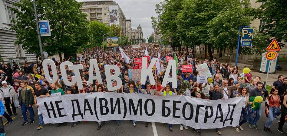 Beograd: 25. maja protest ispred Skupštine grada
