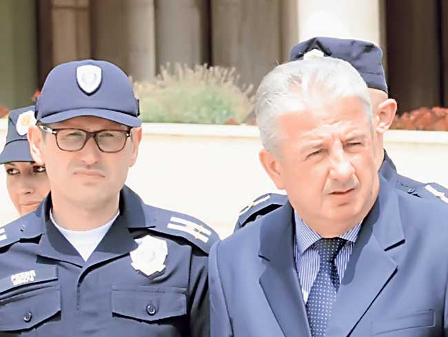Veljović odlazi u penziju – Rebić v.d direktora policije