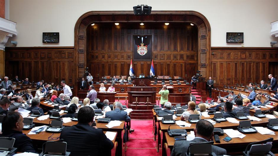 Prekinuta Konstitutivna sednica Skupštine Srbije