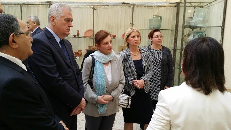 Predsednik Nikolić posetio alžirsku provinciju Tipaza