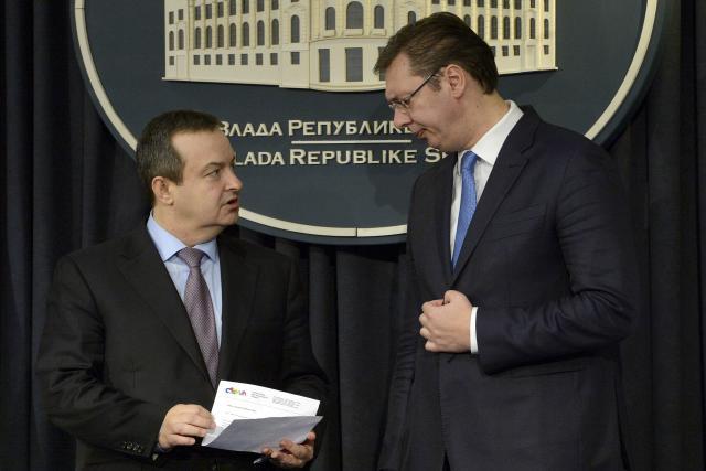 Konferencija za medije Vučića i Dačića o  završenoj Ministarskoj konferenciji OEBS – a