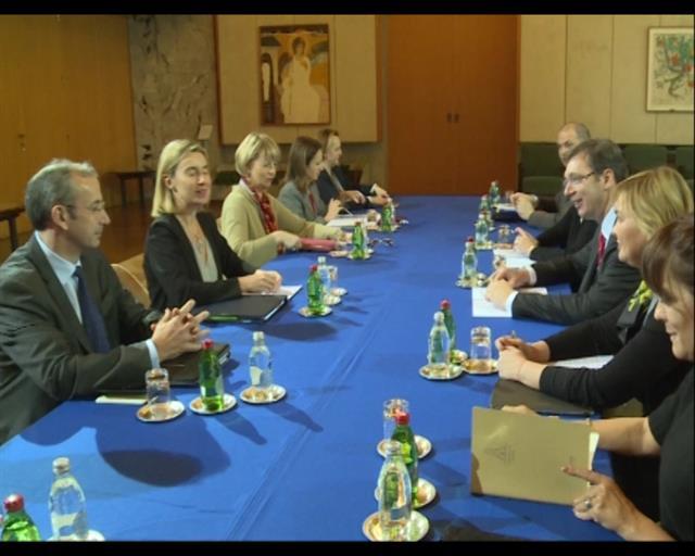 Federika Mogerini razgovarala sa Vučićem: otvaranje poglavlja 32 i 35 – završen posao