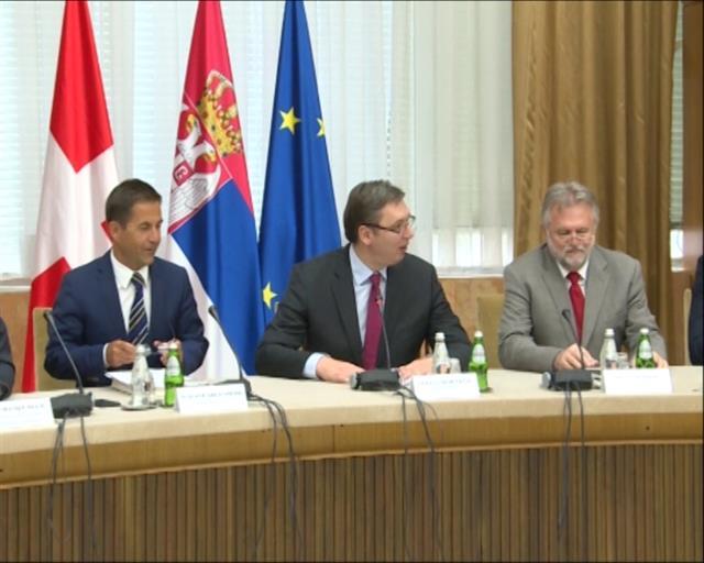 Vučić razgovarao sa delegacijom Švajcarske konfederacije