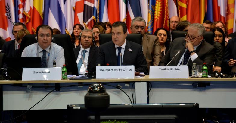 Završna reč predsedavajućeg OEBS-a, Ivice Dačića na 22. Ministarskom savetu